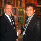 Alan Sands and Murray Hatfield at Magic Castle