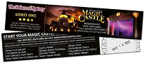 Tickets to Magic Castle, March 21, 2012