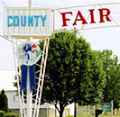 County fair entrance