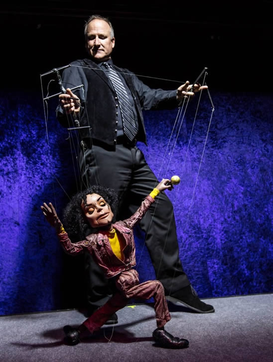 Scott Land Marionettes Michael Jackson