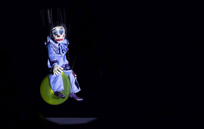 Scott Land Marionettes clown